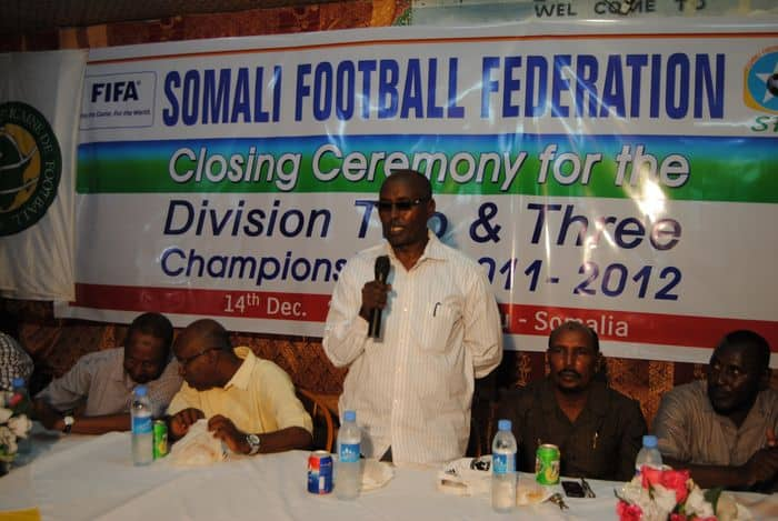 SFF President Ali Said Guled addresses at the closing ceremony03