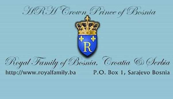 crown prince bosnia