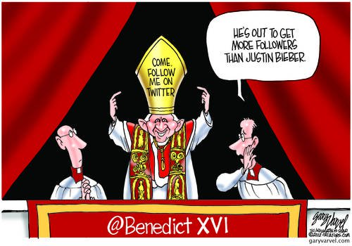 Pope Benedict On A Mission To Get More Followers Than Bieber And The Beatles