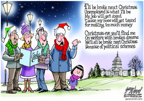 Christmas Carols Evolve With The Times, Reflecting The (Politically Distressed) State Of The Union