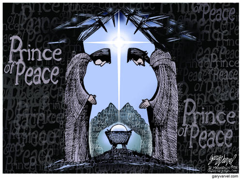Prince Of Peace Delivers A Message: Peace On Earth, Goodwill To All
