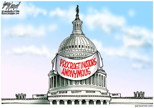 Oh Noes, Procrastinators Anonymous Are Still In Charge Of Congress