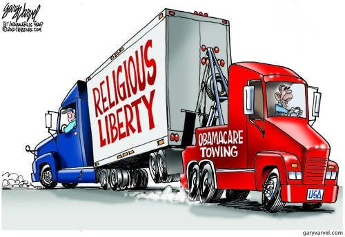 Obamacare Towing Company Drags Religious Liberty Away Against Its Will