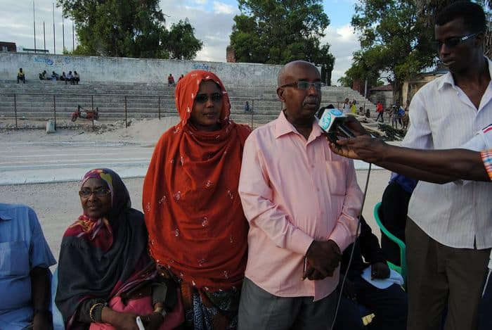The late Hassan Ahmed Abdi photo