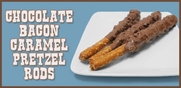 bacon pretzel rods