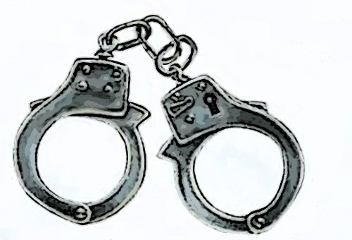 hand cuffs cartoon