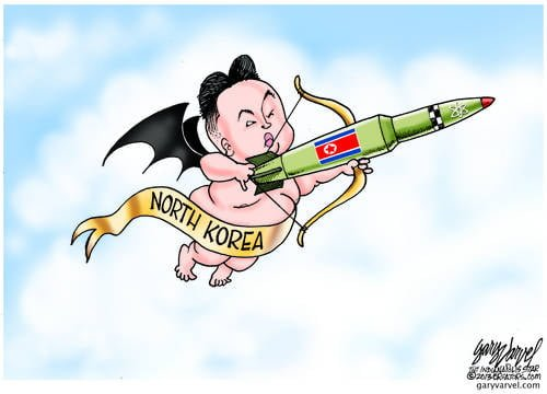 Cupid Jong Un Has A Valentines Gift For The USA, How Sweet!