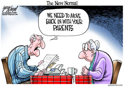 Welcome To The New Normal, Where Retirees Move Back In With Their Parents