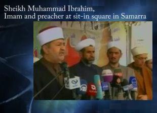 Shaikh Muhammad Ibrahim, at Samarra sit in