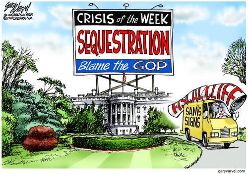 Publicizing The Sequestration Scare Campaign Is More Fun Than Rational Debate, Or Heaven Forbid, Fixing It