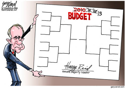 Harry Reid Trots Out The Same Unchanged Budget For A Fourth Year