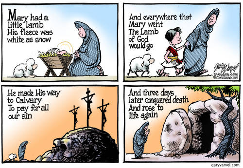 Mary Had A Little Lamb Takes On A Different Meaning At Easter