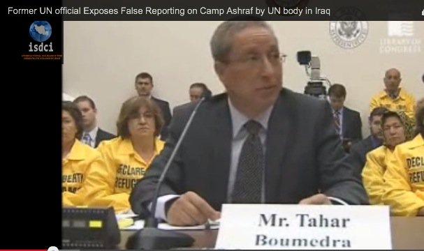 tahar boumedra exposes false un reporting