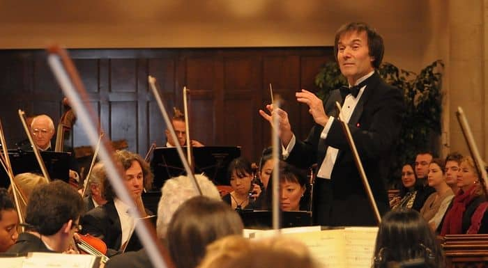 LA Legal Voiced Gary Greene Conducting Photo courtesy of Los Angeles Lawyers Philharmonic