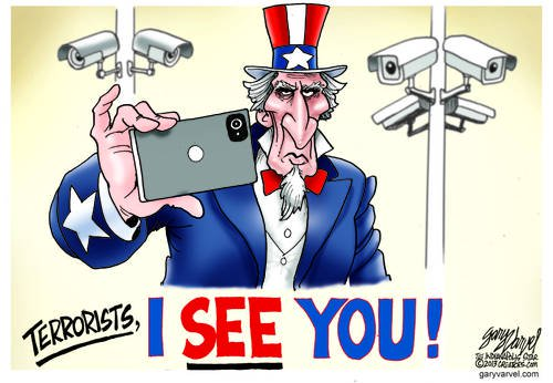 Uncle Sam Uses Smartphones For Surveillance. Hopefully Someone Snapped The Boston Bombers