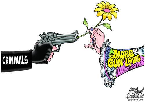 Apparently Flower Power Can Overcome Gun Violence. It Is The Answer For Everything
