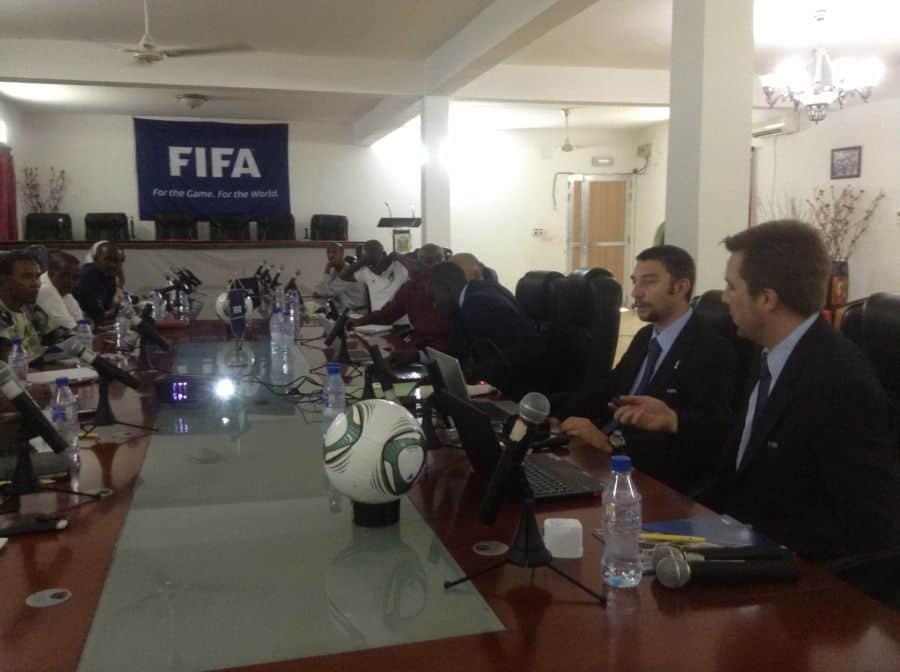 FIFA delegatio