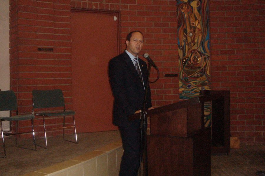 Nir Barkat Jerusalem Mayor Temple Emanuel Beverly Hills May 2013