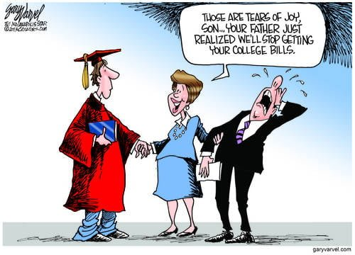Parental Joy At Graduation Time Is Really For Wallet Pain Ending