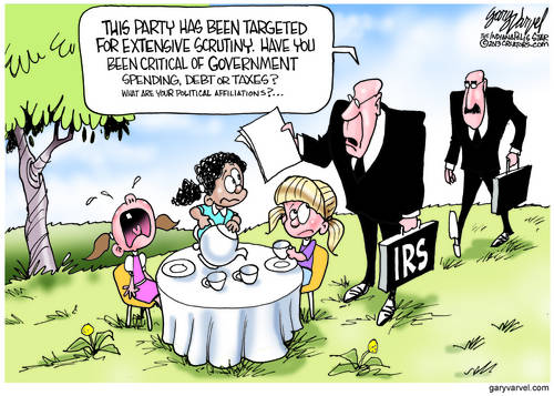 We Are The IRS, Here To Help You. What Is Your Party Affiliation?
