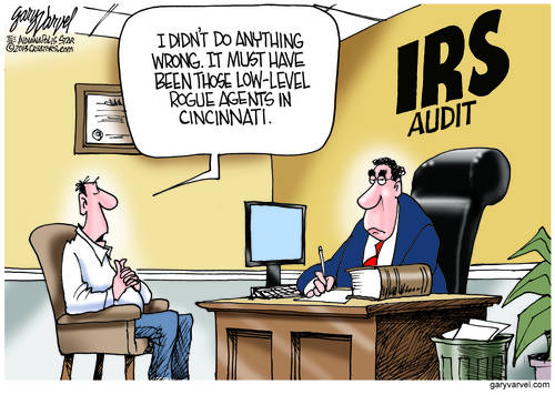 Will The IRS Scandal Give Taxpayers Another Excuse To Use In Audit Meetings?