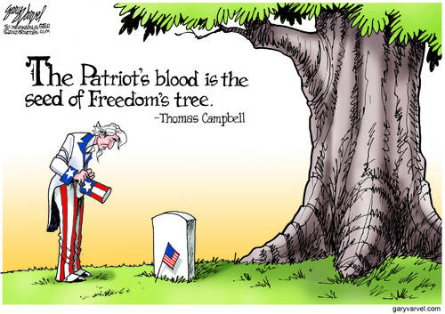 The Patriots Blood Is The Seed Of Freedoms Tree - Thomas Campbell (poet)