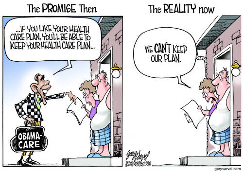 Promise: We Will Not Change Your HealthCare If You Like It. Epic Fail: Until After The Election