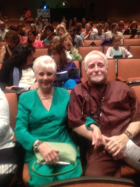 Guests actress Shirley Jones and husband Marty Ingels