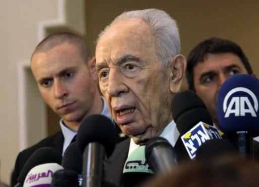 Peres in Jordan tired and confused