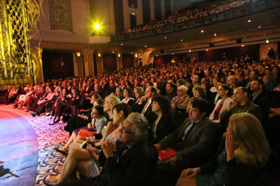 The crowd at the Saban Theatre Photo Orly Halevy