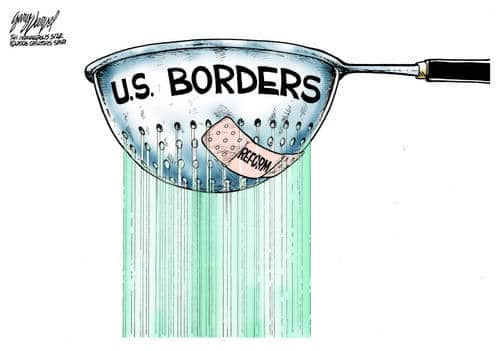 Leaking Like A Sieve: Leave US Borders Open And Monitor All Communications To End Freedom