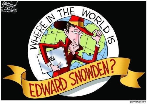 Where is Edward Snowden?