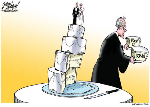 Supreme Court Activist Judges Cut Two Massive Supporting Slices Out Of Wedding Cake