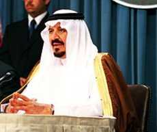 former Saudi Arabian Crown Prince Sultan bin AbdulAziz Al Saud in the White House. Public domain photo.