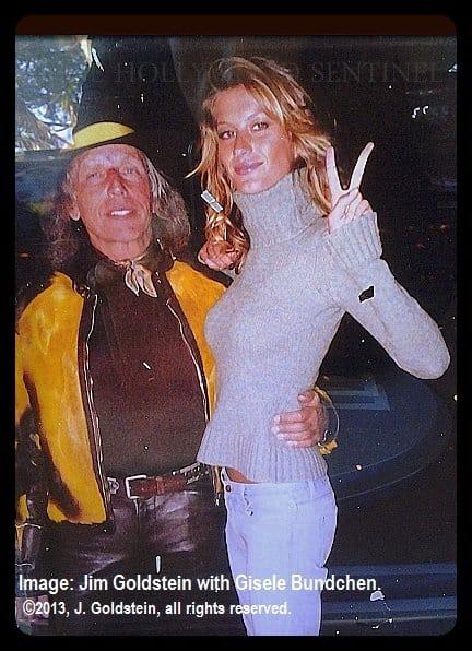Gisele Bundchen with Jim Goldstein