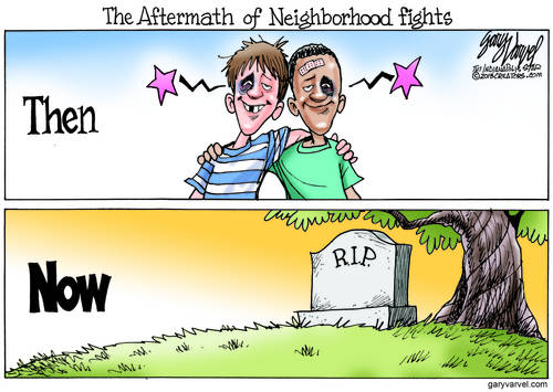 Neighborhood Fights Have Changed. Its Not The Way It Used To Be. Where Is The Love?