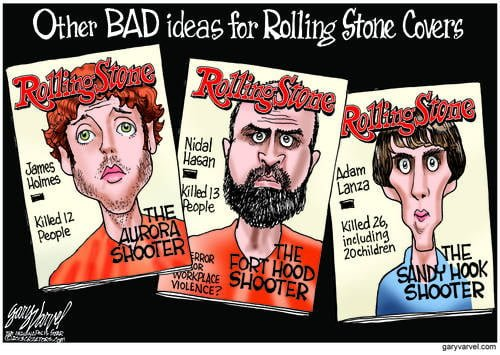 Congratulations To RollingStone For The Dumbest Cover Of The Century. Here Are Suggestions For The Next Three