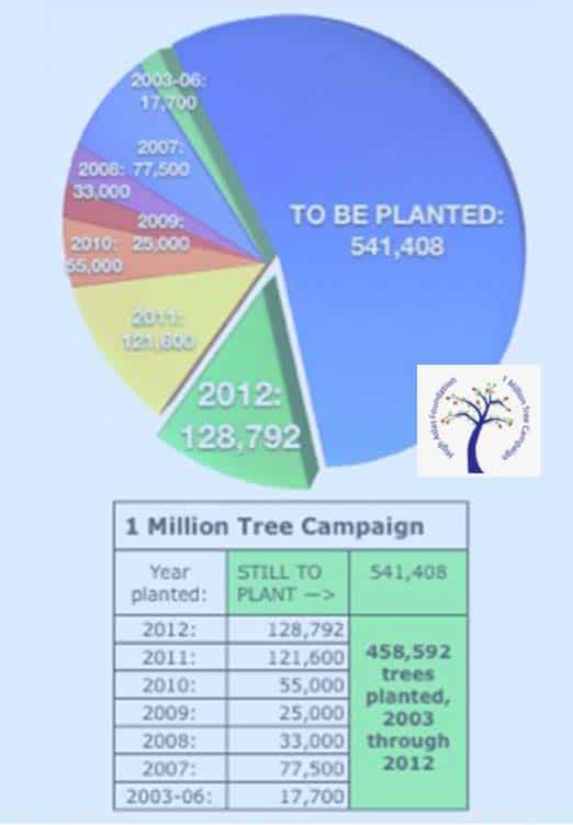 madagascar million tree campaign