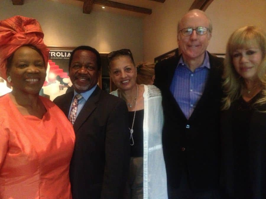 From L Lydia and Rev. Meshoe Rachel Neuwirth Rod Sherwood and Daphna Ziman