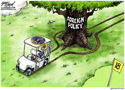 Unbelieveably, Obama Foreign Policy Goes Both Ways