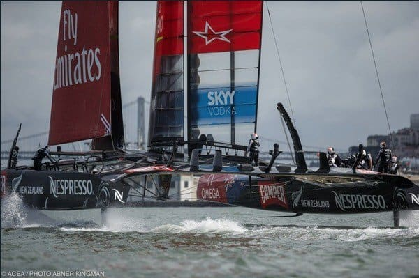 americascup two challengers