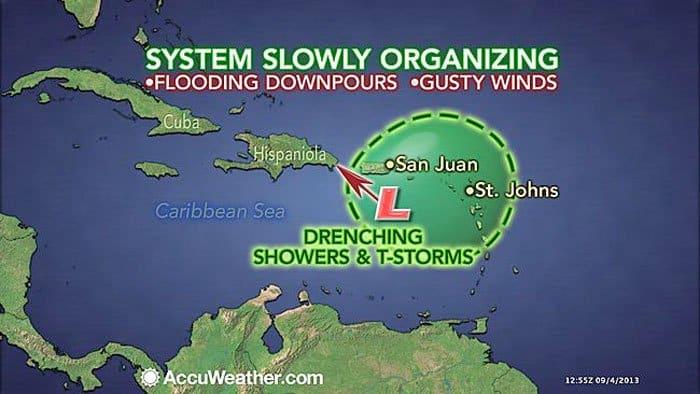 caribbean storm hispaniola