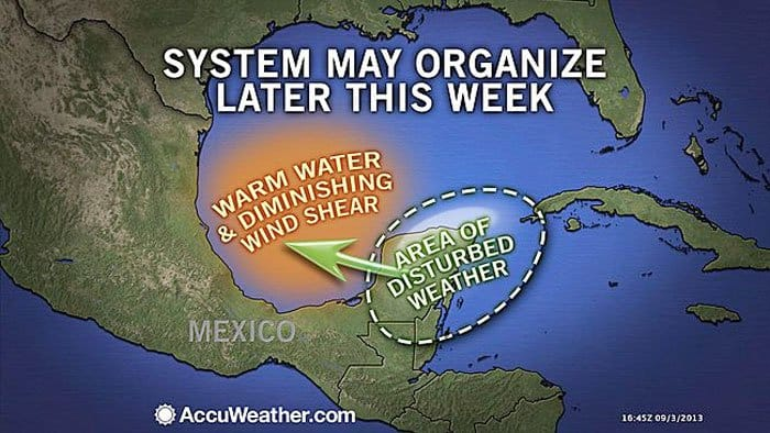 conditions for yucatan storm