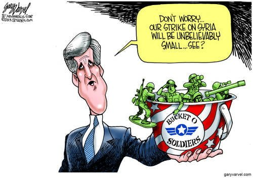 Kerry: Our Strike Will Be So Small As To Be Worthless. Its An Ego Thing, Really