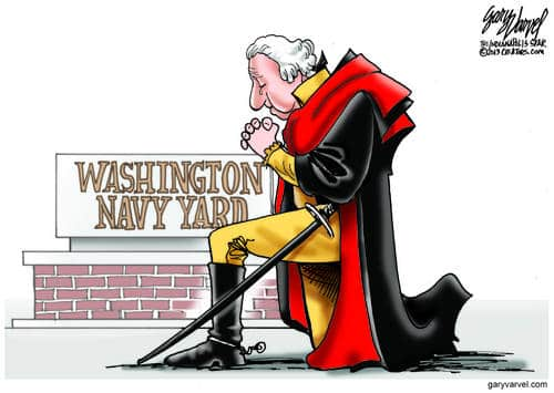 Washington Woke From A Long Sleep, To A Very Sad Scene At The Navy Yard