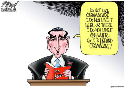 We Already Know Congress Is A Little Weird. Ted Cruz Made It More So With His Dr. Seuss Filibuster