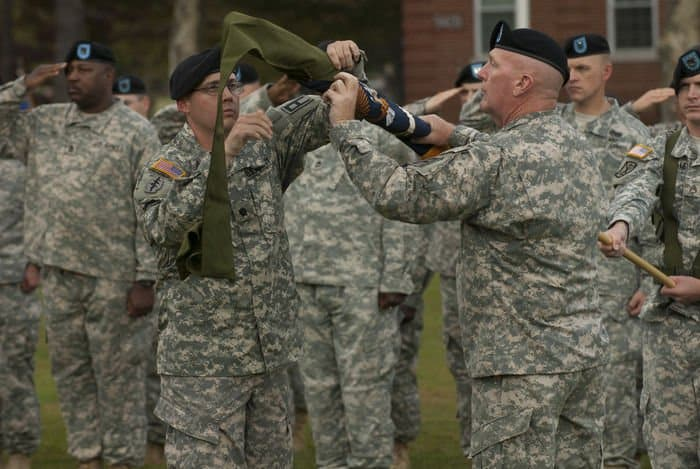 The 174th Infantry Brigade, part of First Army Division East, is a multicomposition Brigade comprised of Active duty and mobilized Reserve component Soldiers.