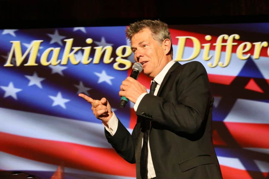 David Foster inchange of entertainment Phot by Orly Halevy