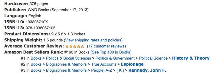 corsi bestseller stats