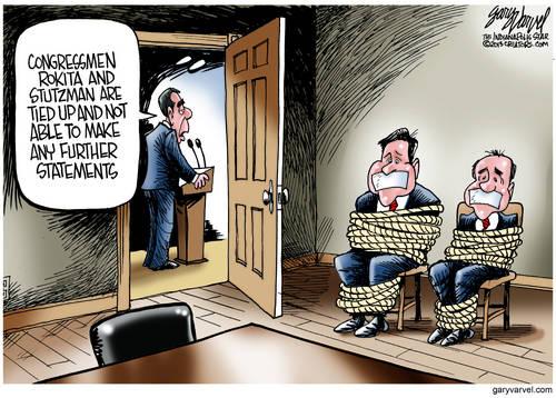 Editorial Cartoons by Gary Varvel - gv2013131004dAPC - 04 October 2013